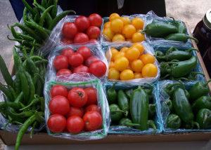 Fresh produce at Square Market